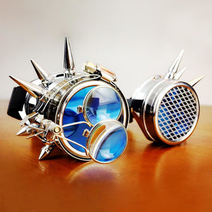 The Beast Round Punk Goggles-The Steampunk Cave