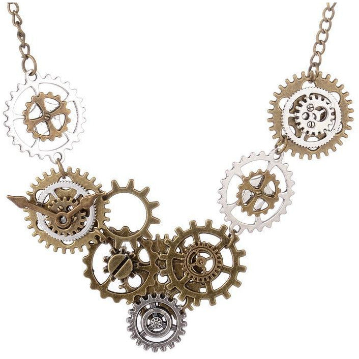 Vintage Steampunk Necklace-The Steampunk Cave