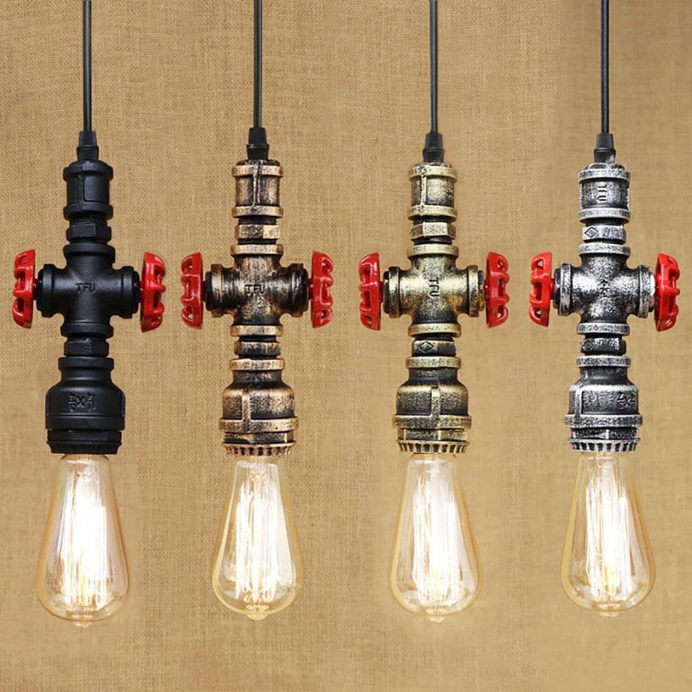 Water Pipe Pendant Lamp - 8 Designs-The Steampunk Cave