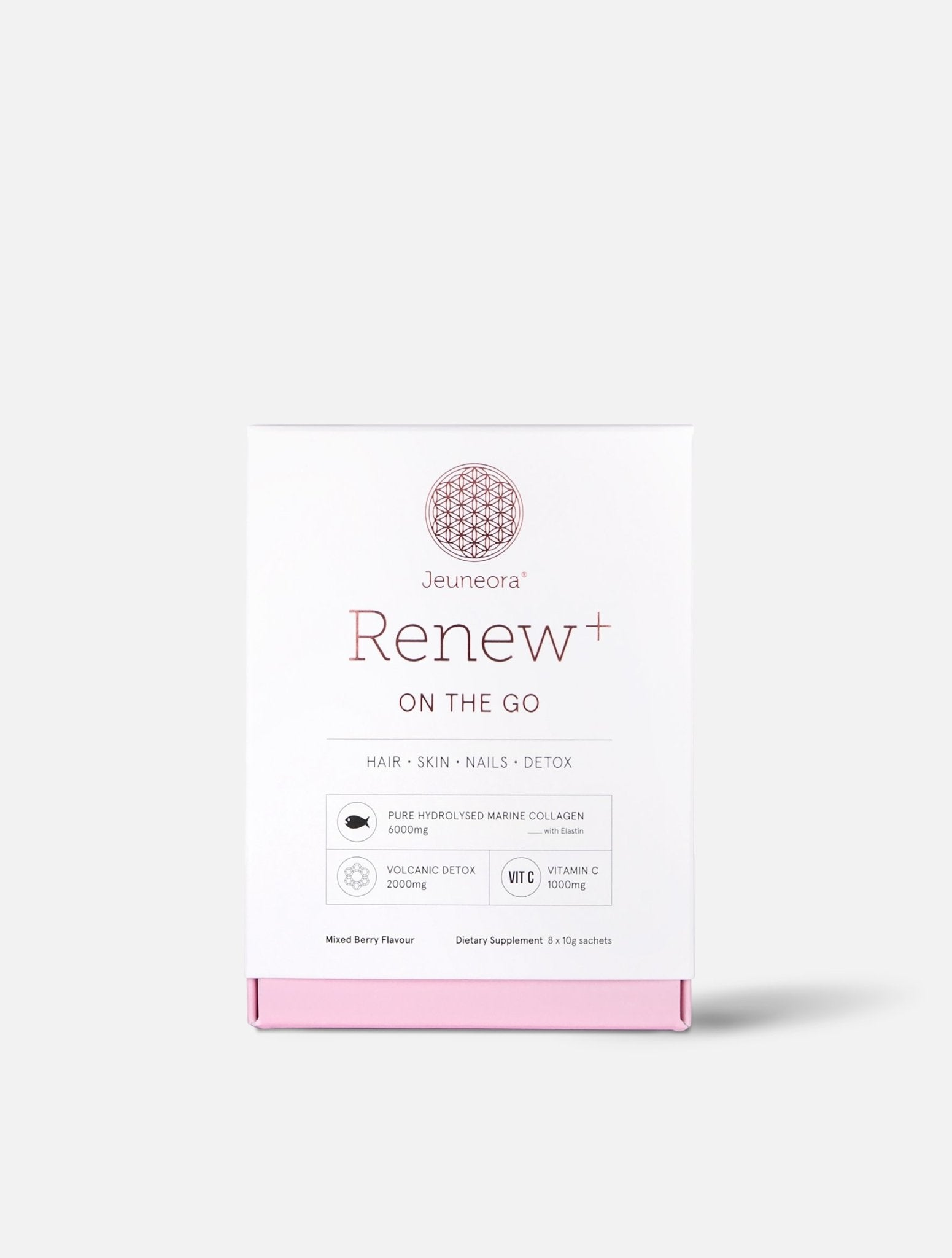 Renew+® On the Go Marine Collagen Sachets - Jeuneora® Australia