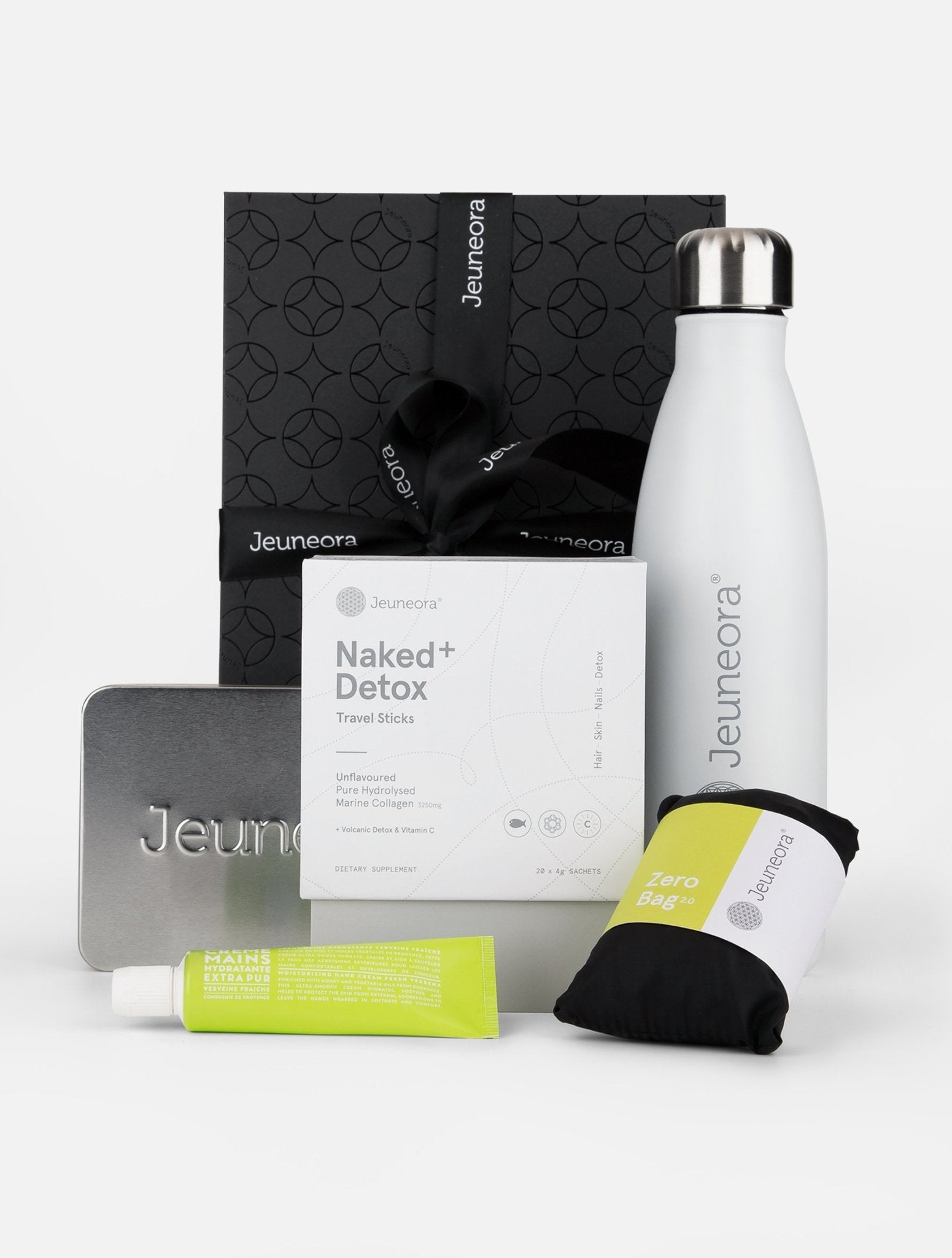 Weekender Gift Box With Naked+ Detox Travel Sticks - Jeuneora® Australia