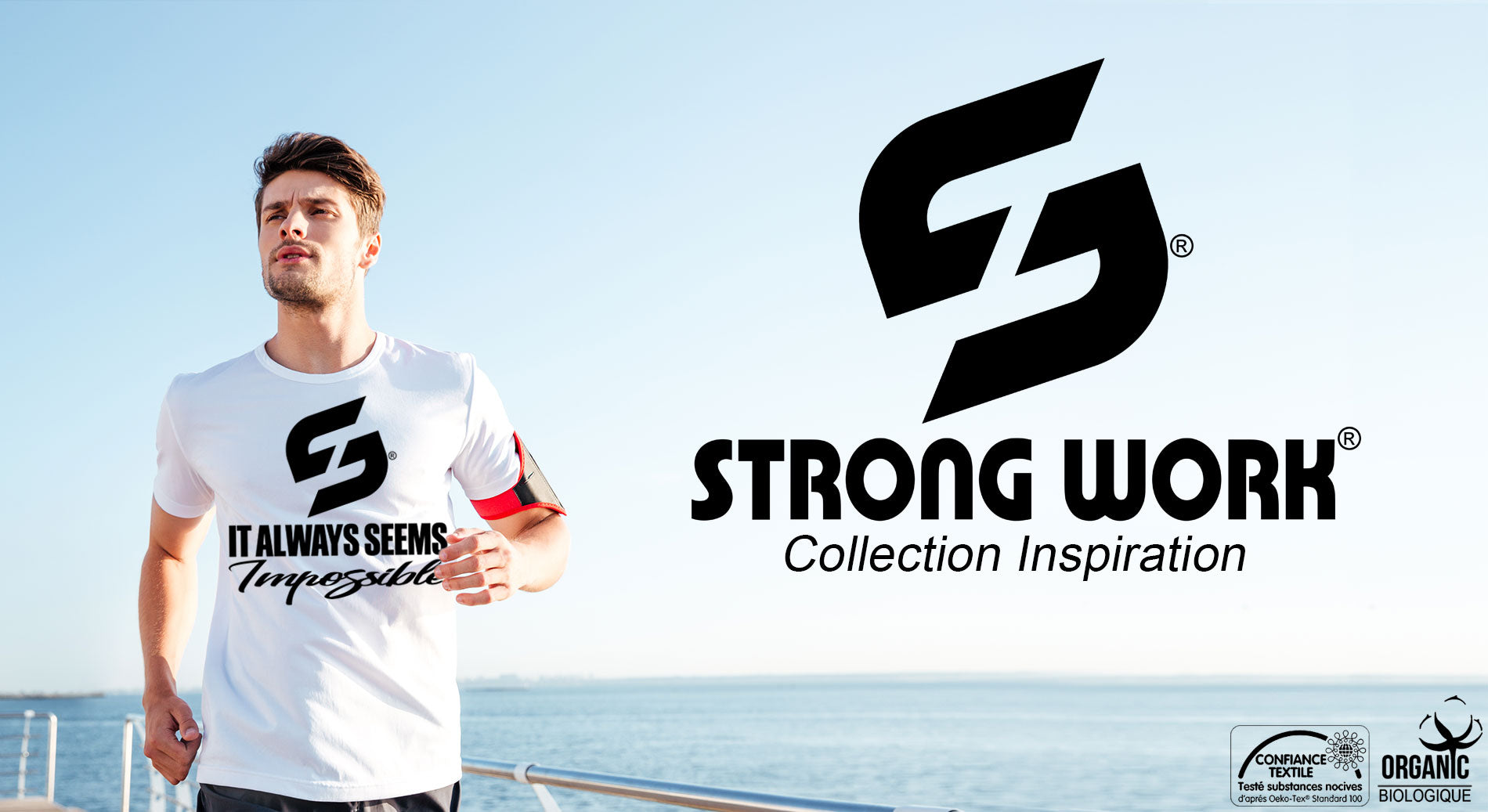 T-SHIRTS HOMME STRONG WORK INSPIRATION