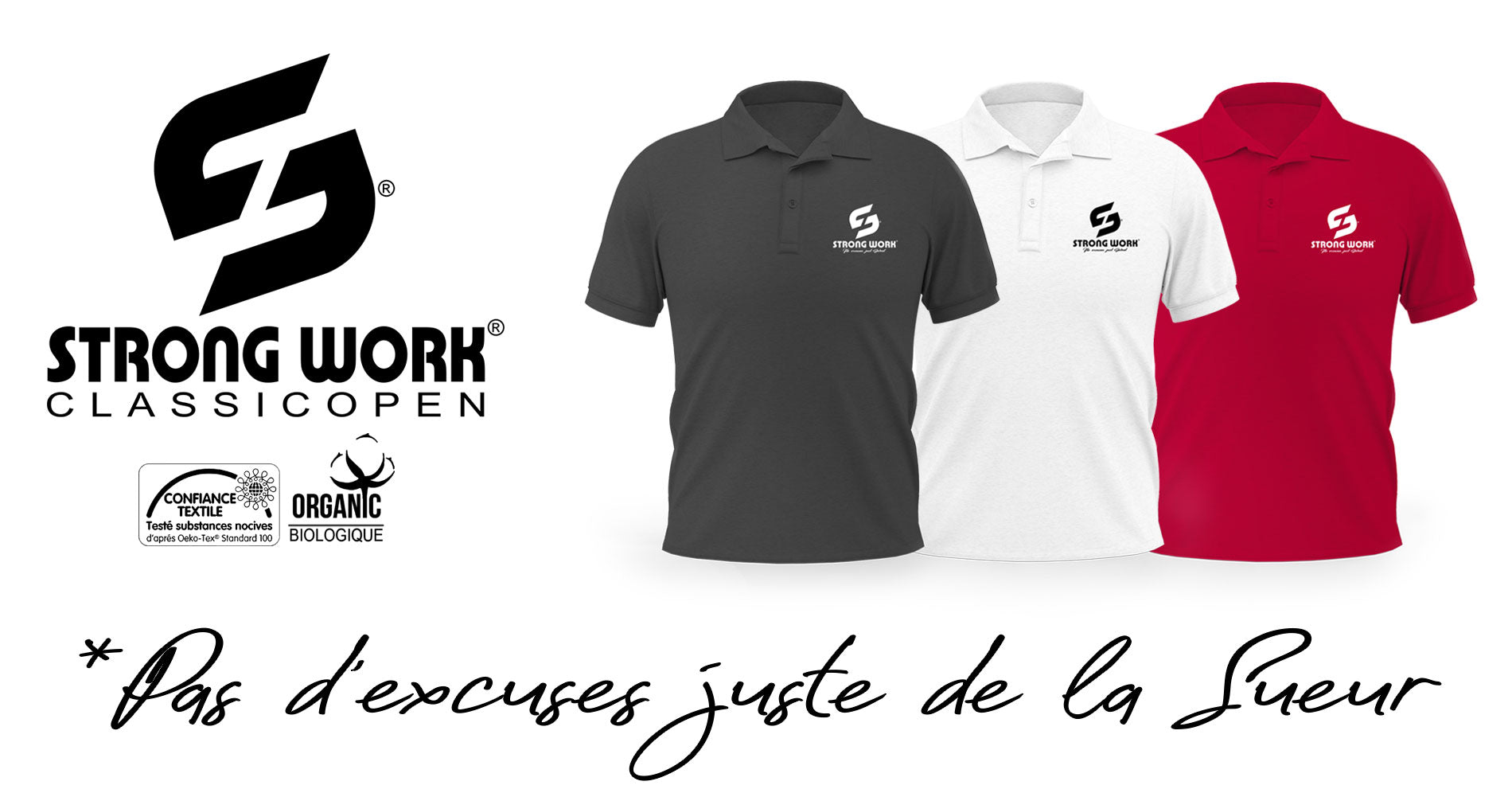 POLO HOMME STRONG WORK CLASSIC OPEN