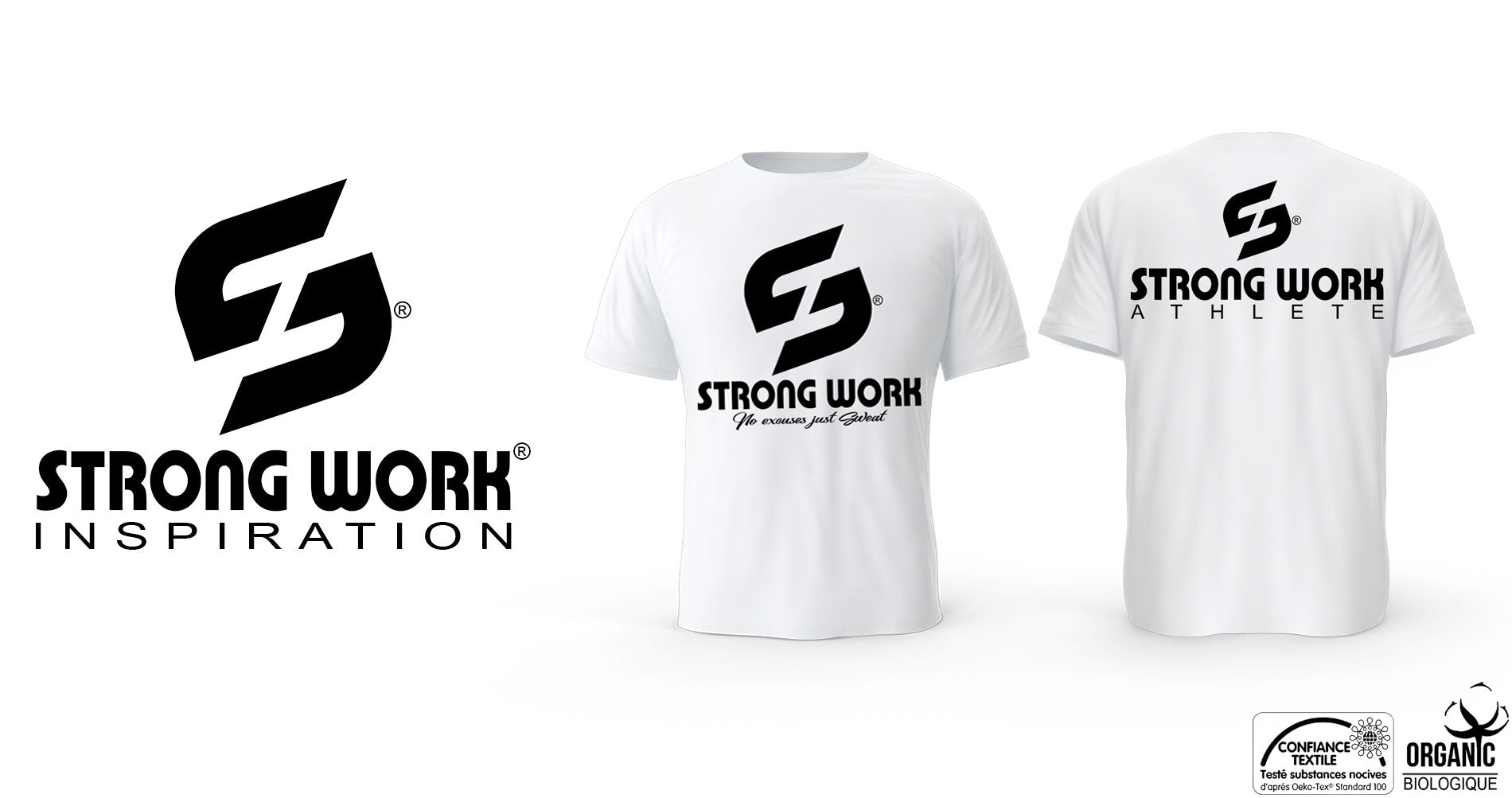 T-SHIRT POUR FEMME STRONG WORK ATHLETE