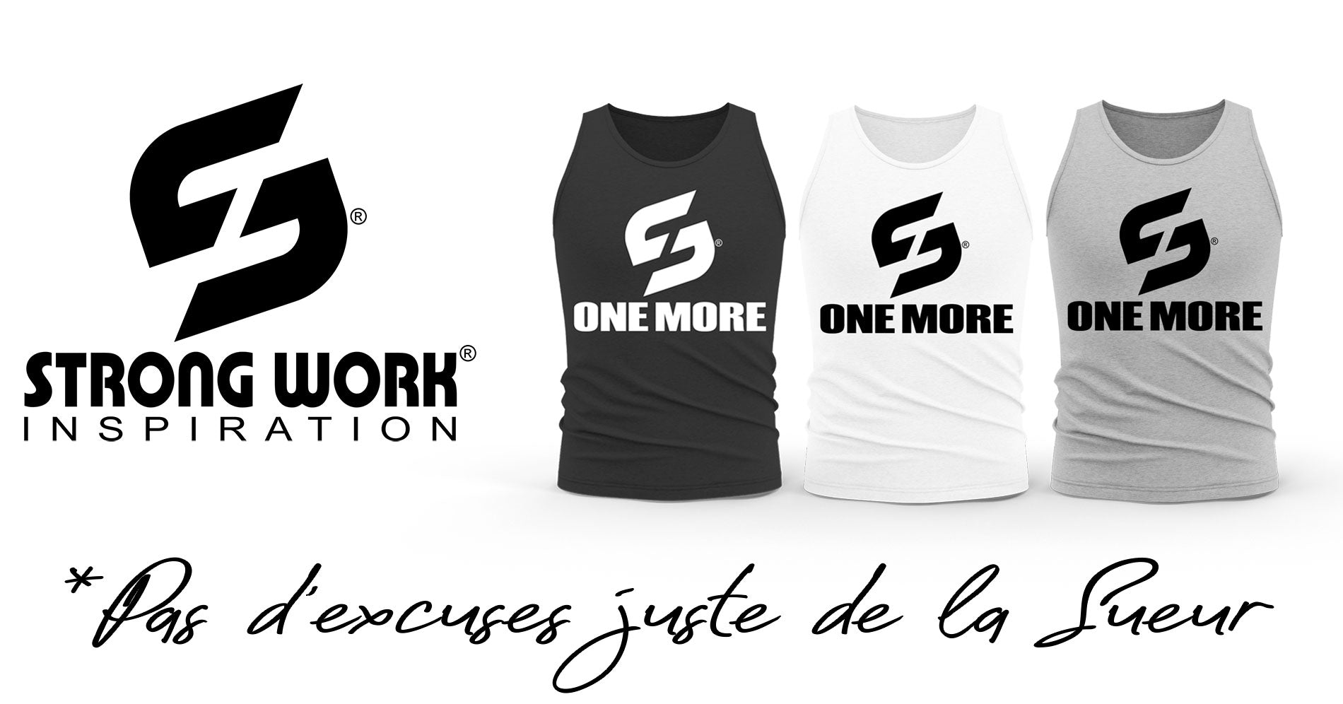 DEBARDEUR BIO STRONG WORK ONE MORE POUR FEMME