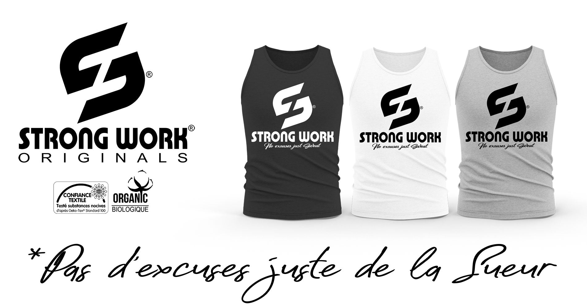 DEBARDEUR STRONG WORK ORIGINALS POUR HOMME