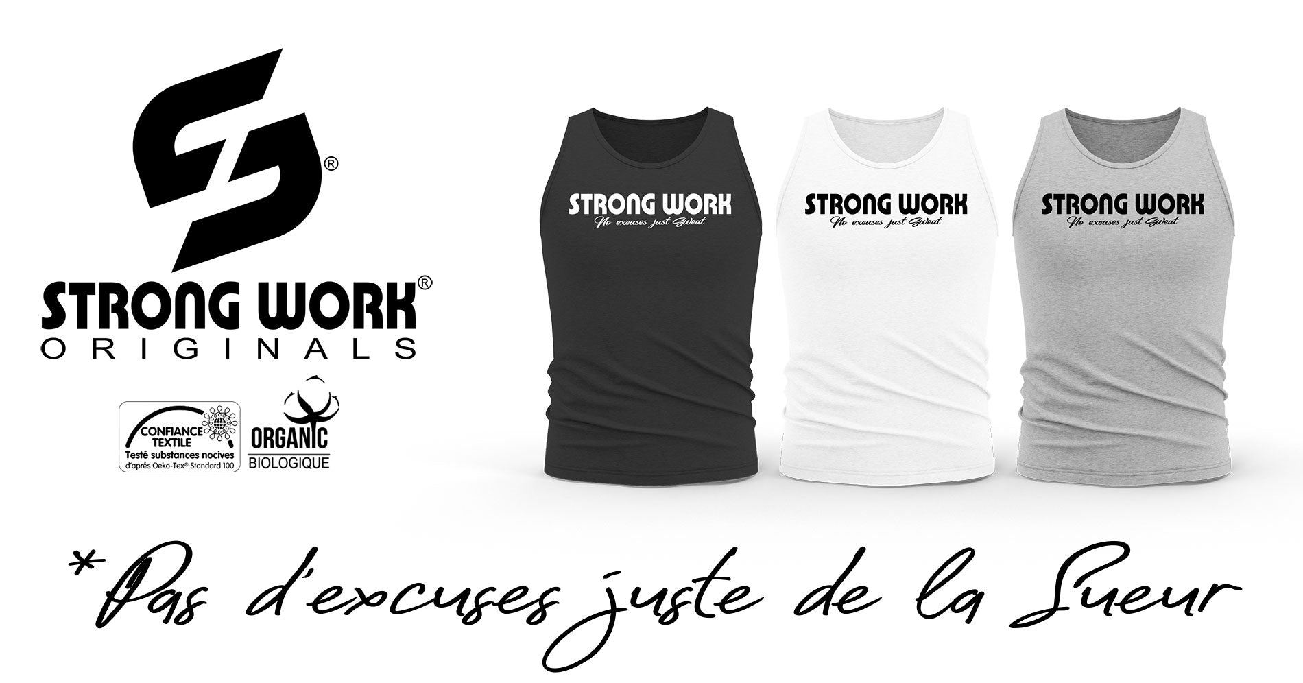DEBARDEUR BIO STRONG WORK INTENSITY POUR FEMME