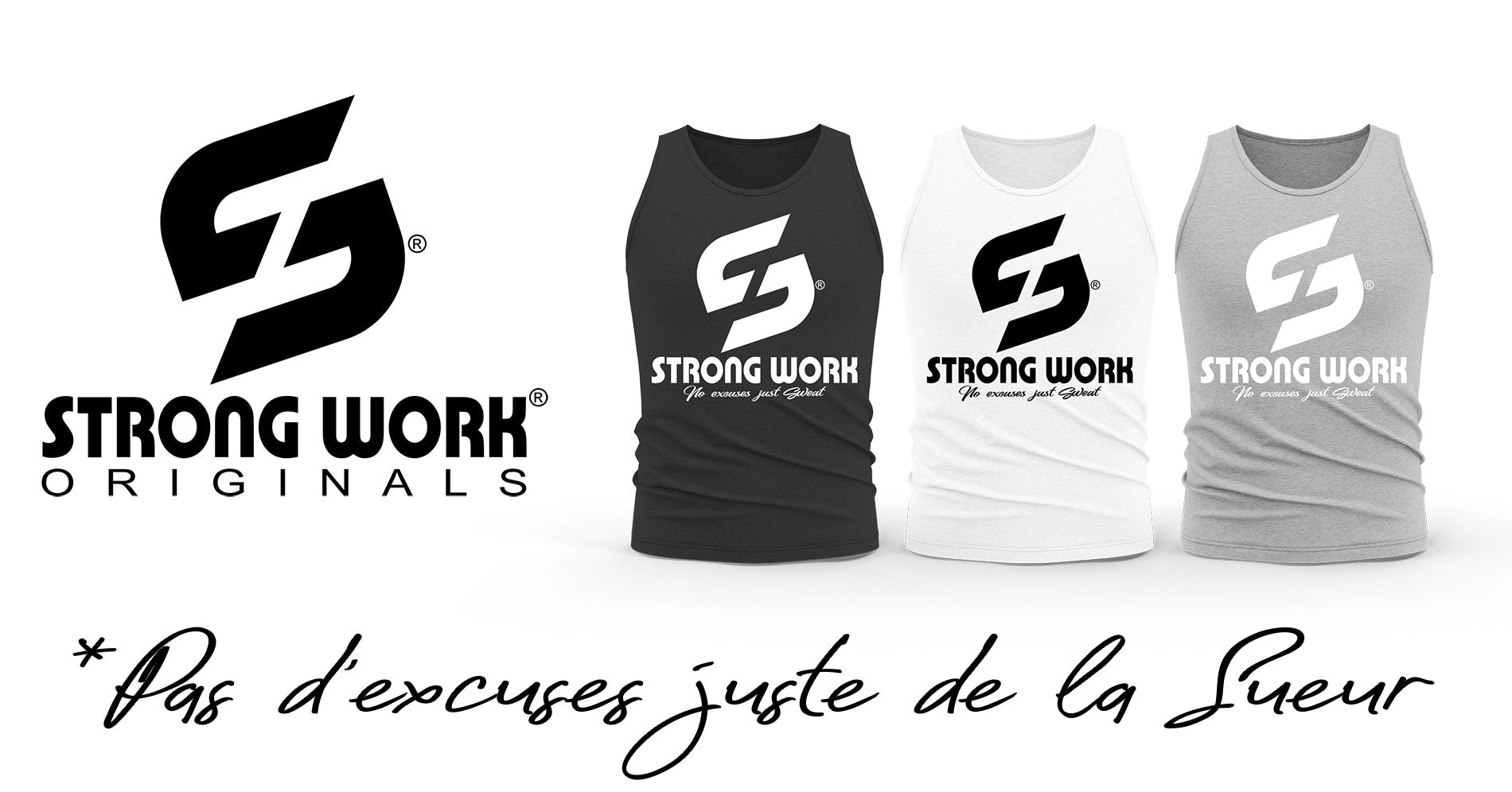 Débardeur Homme Strong Work Originals