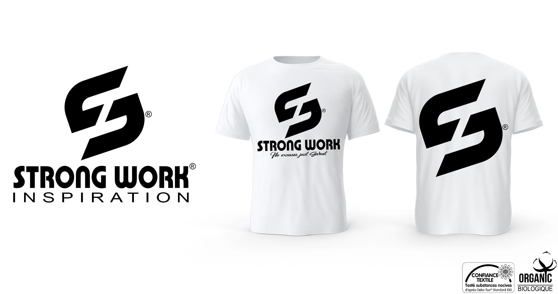 T-SHIRT POUR HOMME STRONG WORK LEGEND