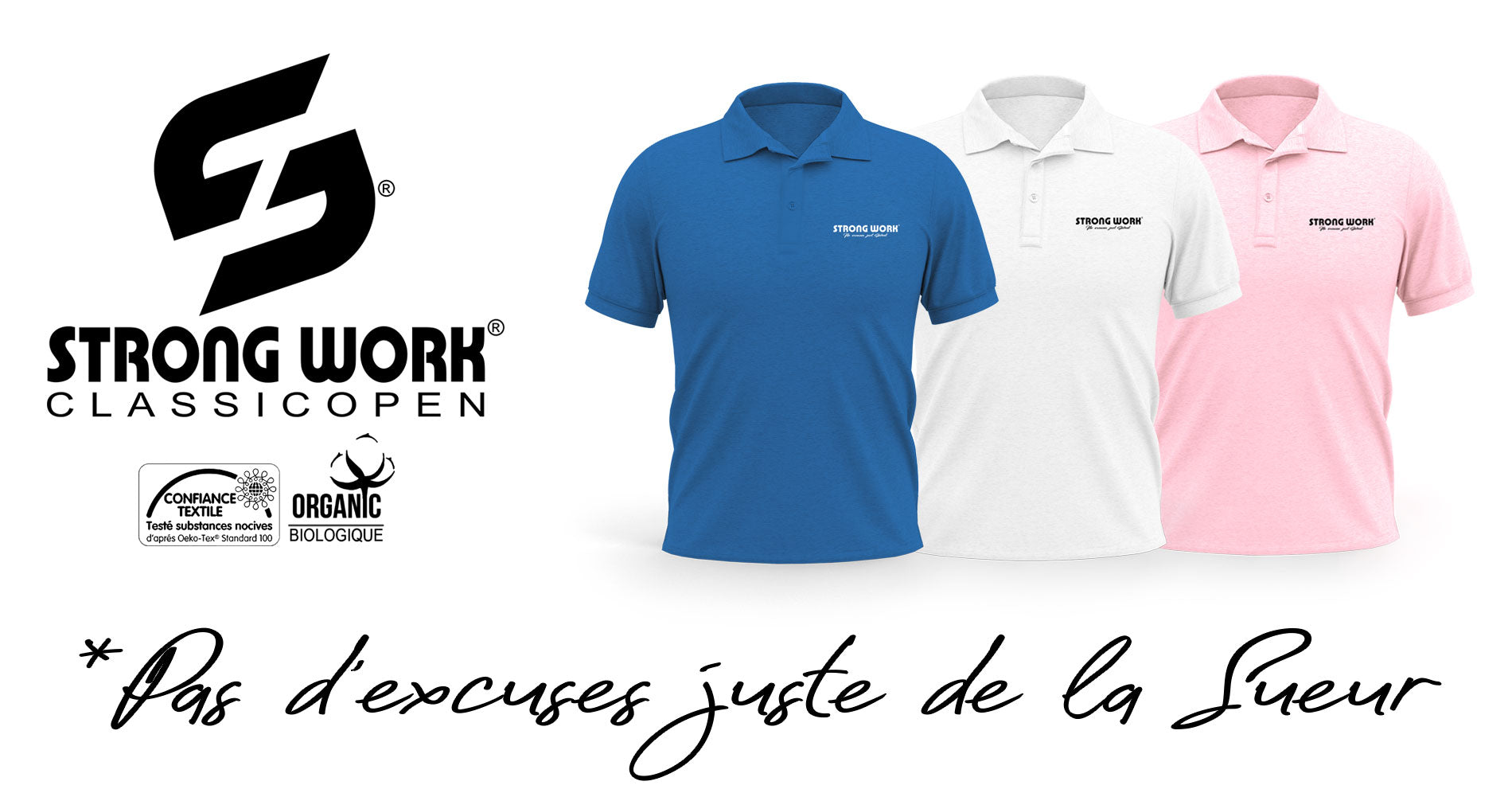 POLO POUR HOMME STRONG WORK ELITE
