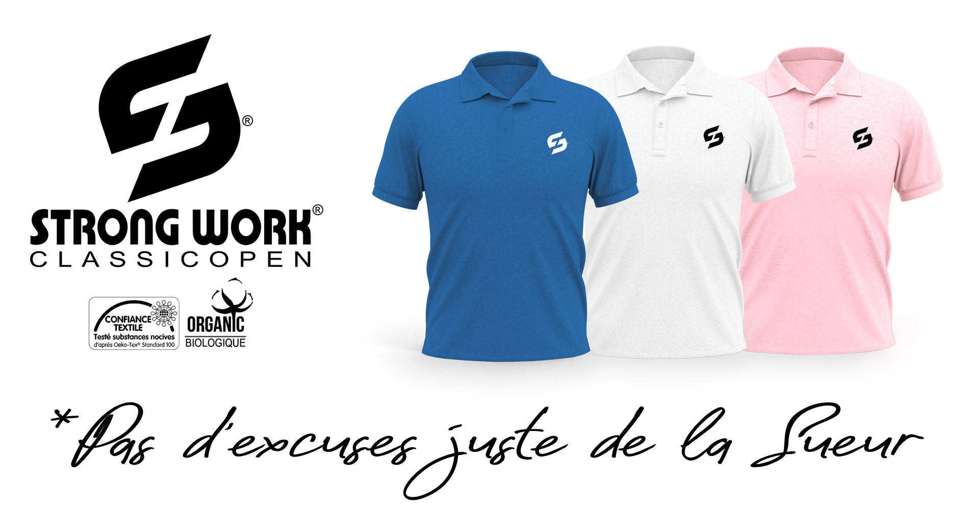 POLO POUR HOMME STRONG WORK NEW CLASSIC