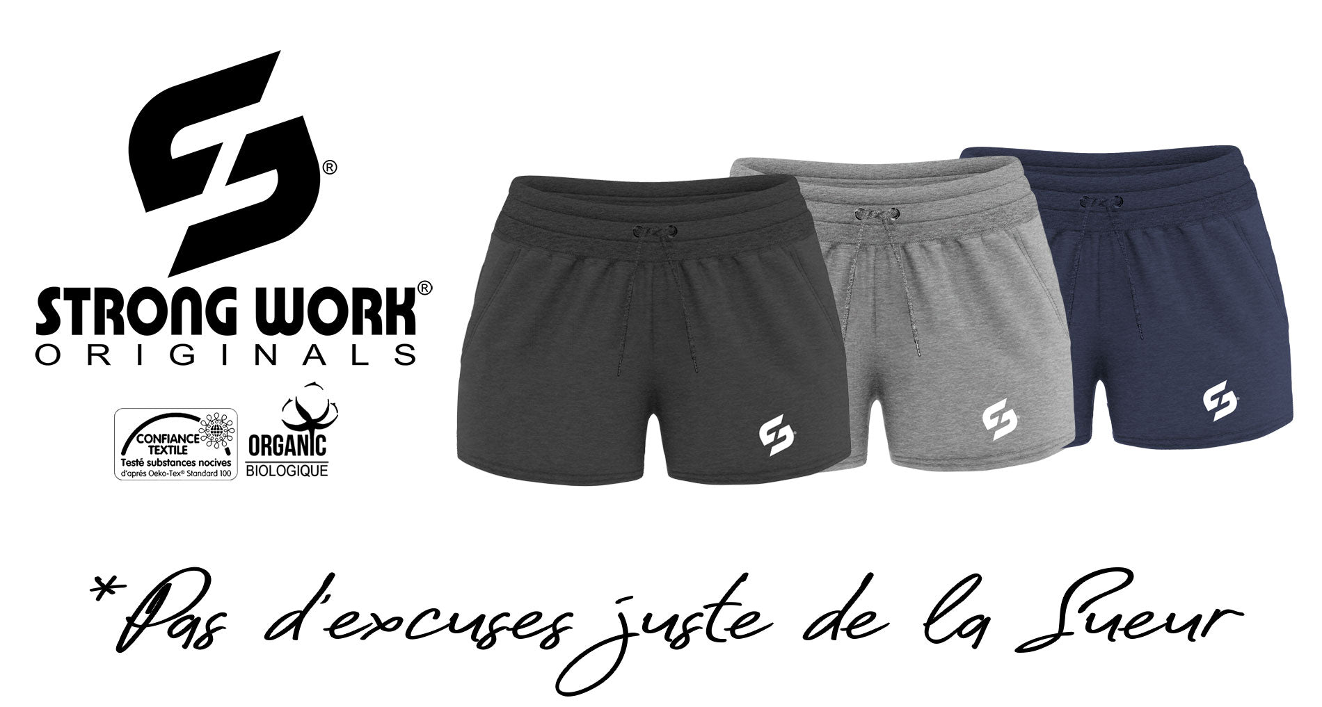 Short Strong Work New Classic pour Femme