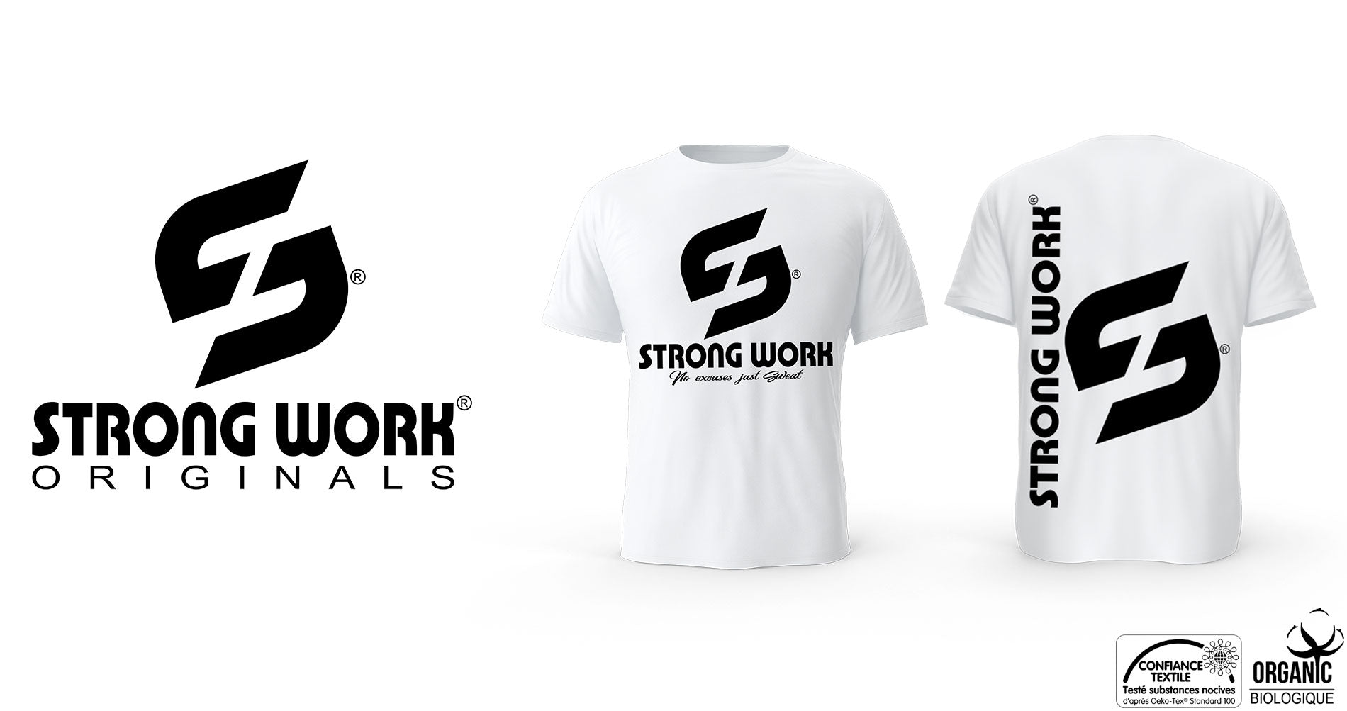 T-Shirt Strong Work Evolution pour Homme