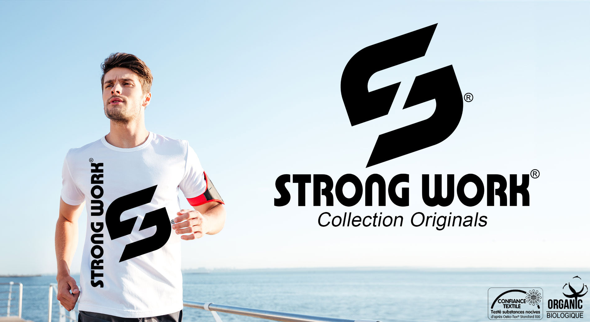 T-Shirt Strong Work Impulse pour Homme