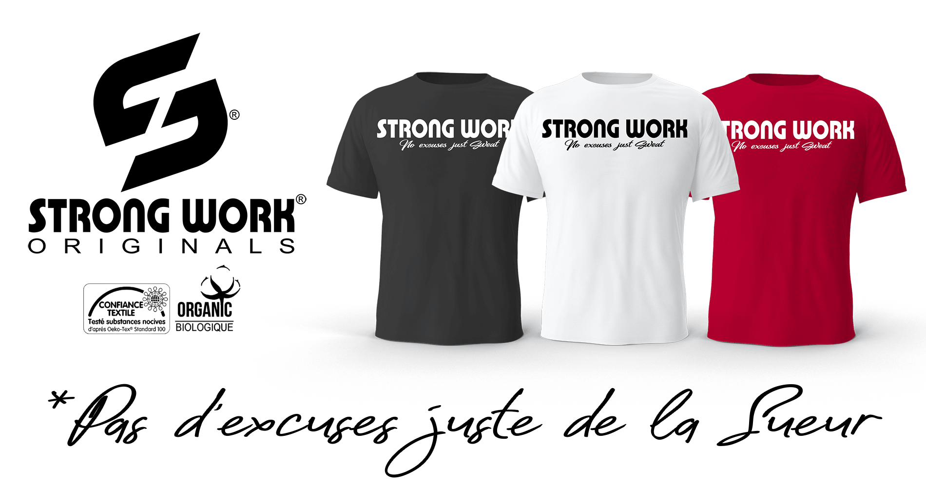 T-Shirt Strong Work Intensity pour Homme