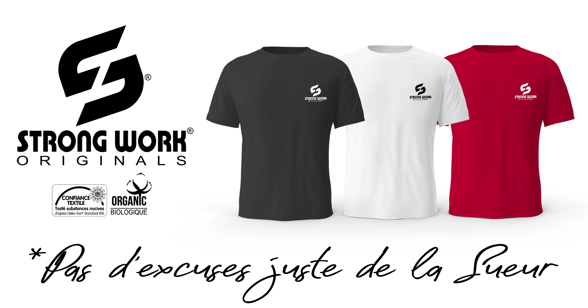 T-Shirt Strong Work Classic Collection Originals