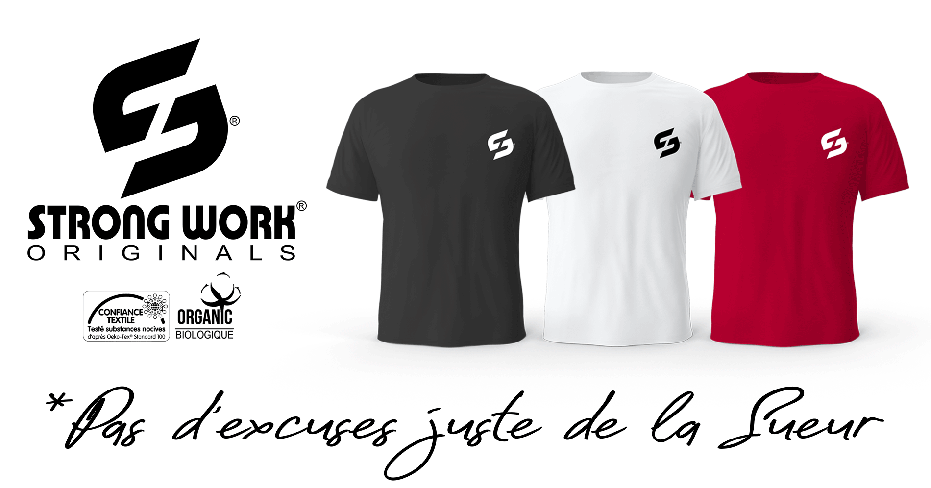 T-Shirt Strong Work New Classic