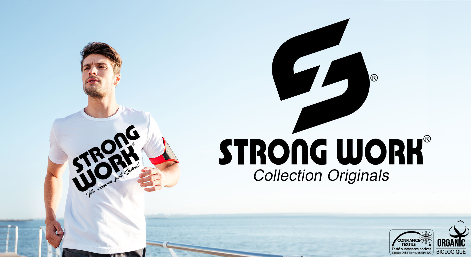 T-SHIRT POUR HOMME STRONG WORK PRODIGY