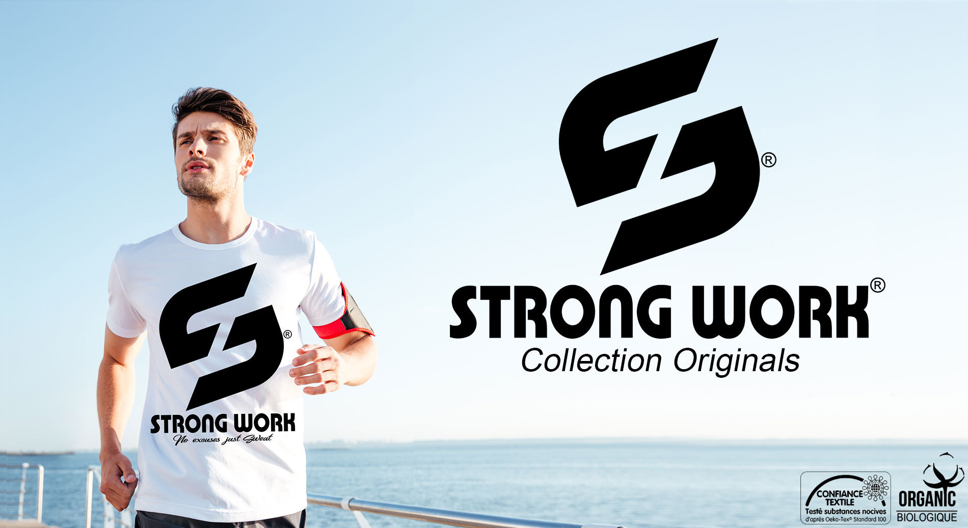 T-Shirt Strong Work Sensation Collection Originals pour Homme