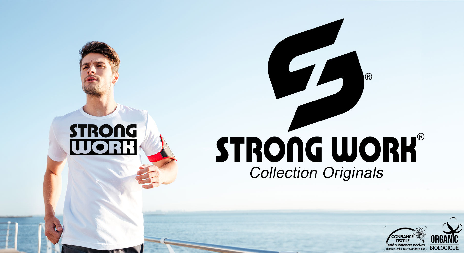 T-Shirt Strong Impact pour Homme
