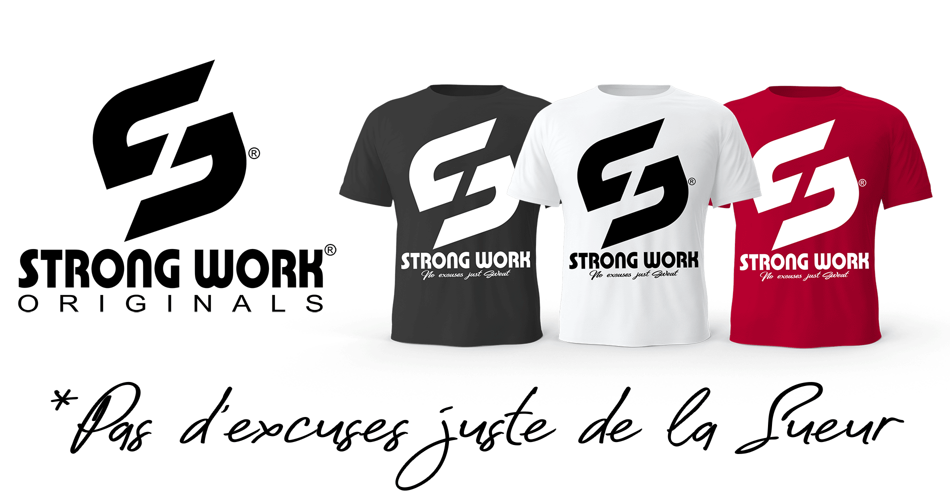 T-Shirt Strong Work Sensation Homme