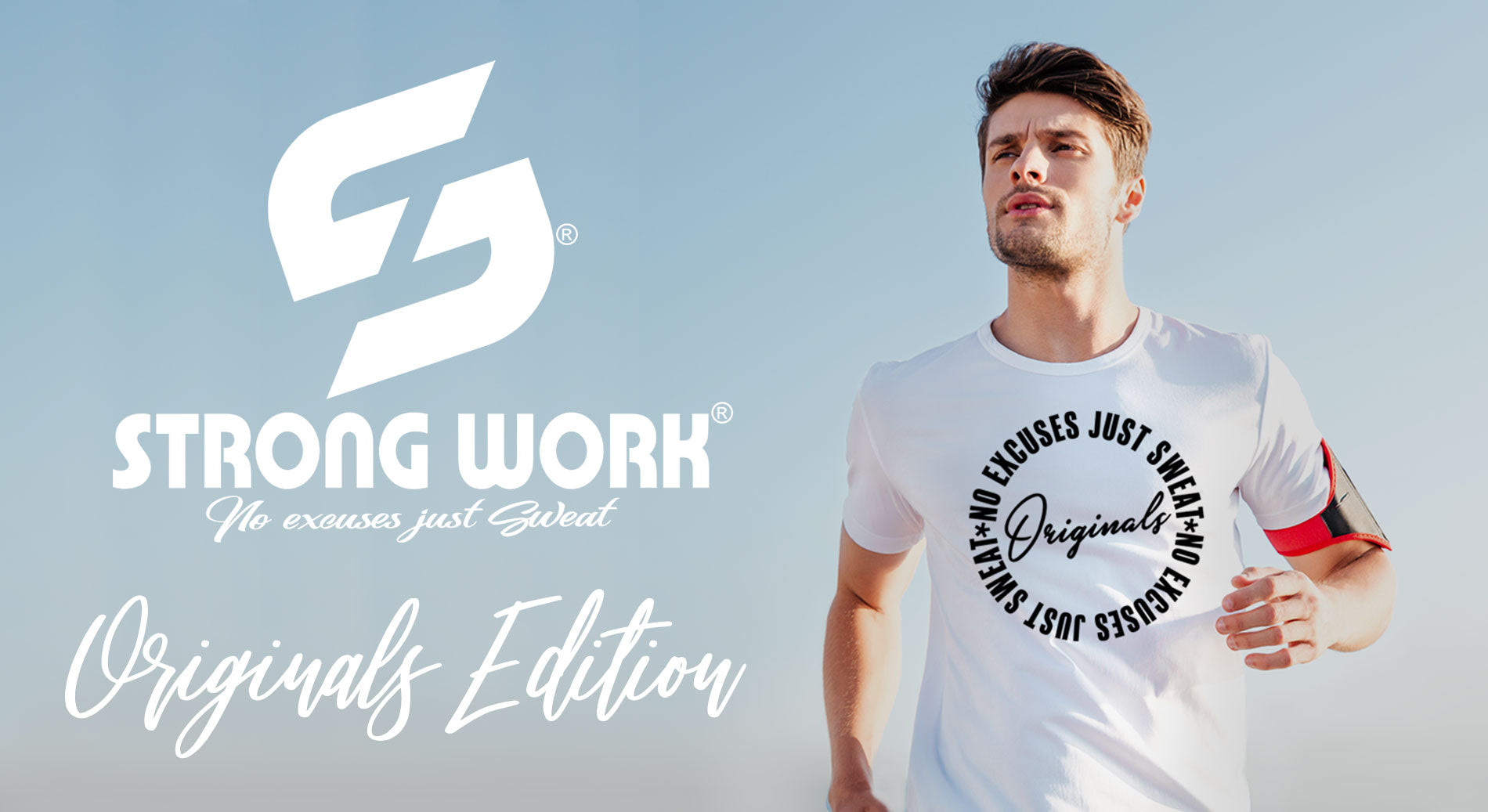T-SHIRT POUR HOMME STRONG WORK ORIGINALS EDITION - SPORTSWEAR ECO-RESPNSABLE