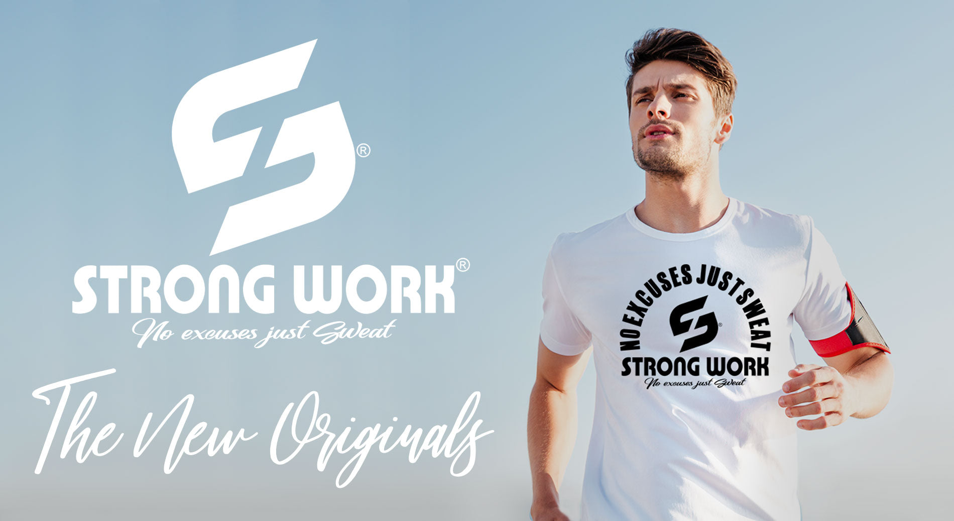 T-SHIRT THE NEW ORIGINALS POUR HOMME - STRONG WORK SPORTSWEAR