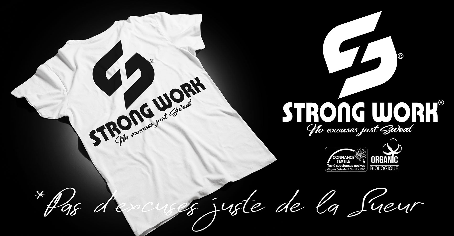 T-Shirt Strong Work Evolution pour Homme Collection Originals