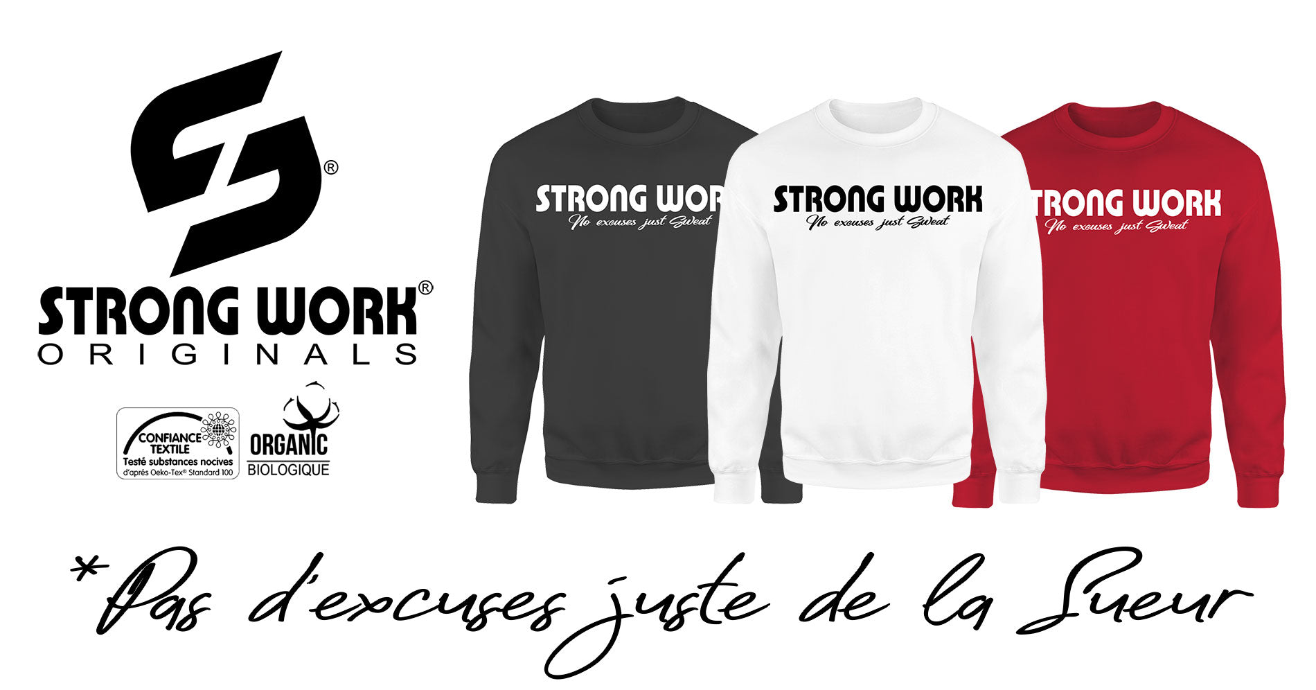 Sweat-Shirt Strong Work Intensity pour Homme