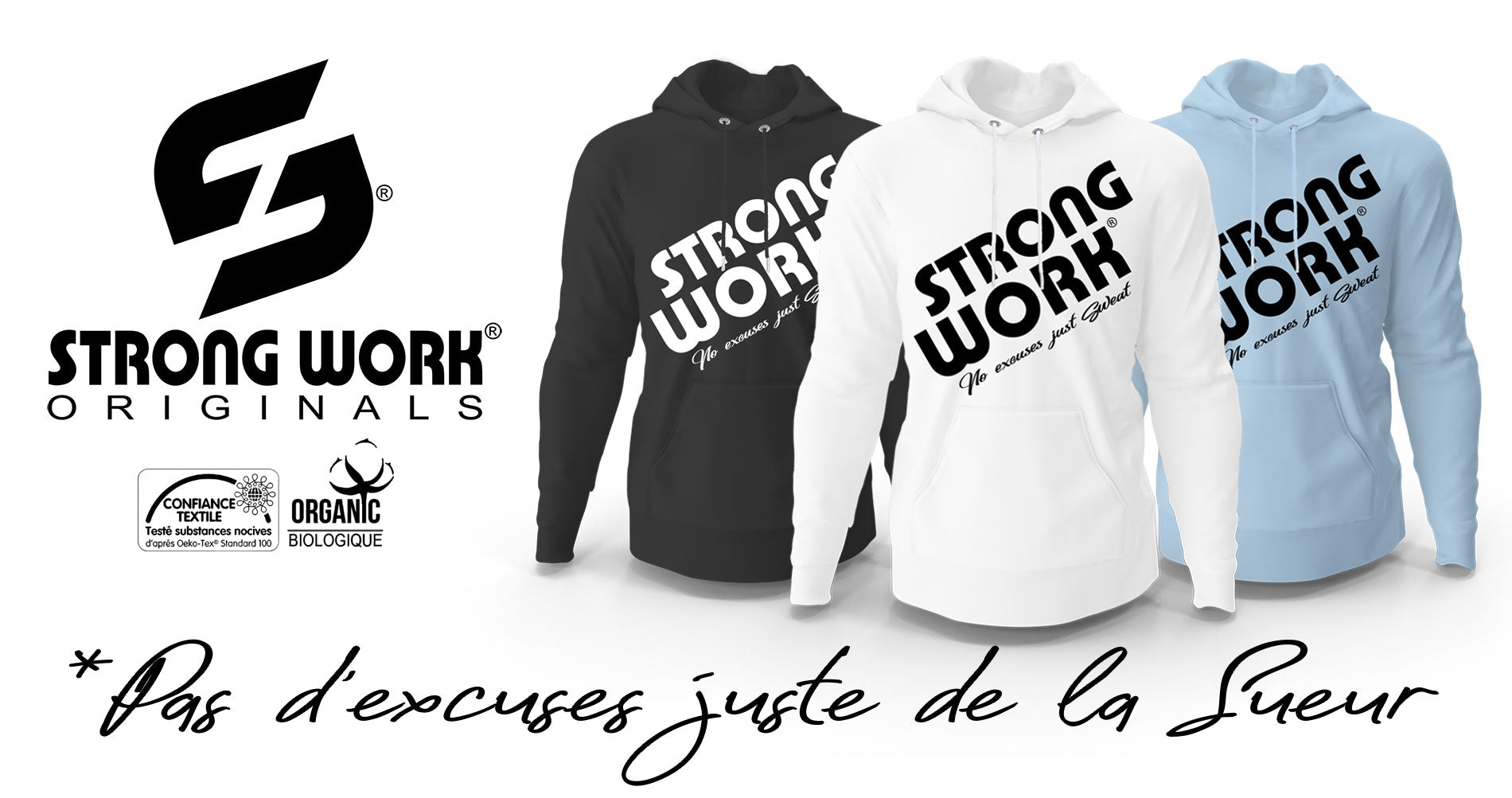 Sweat-Shirt Strong Work Prodigy pour Homme