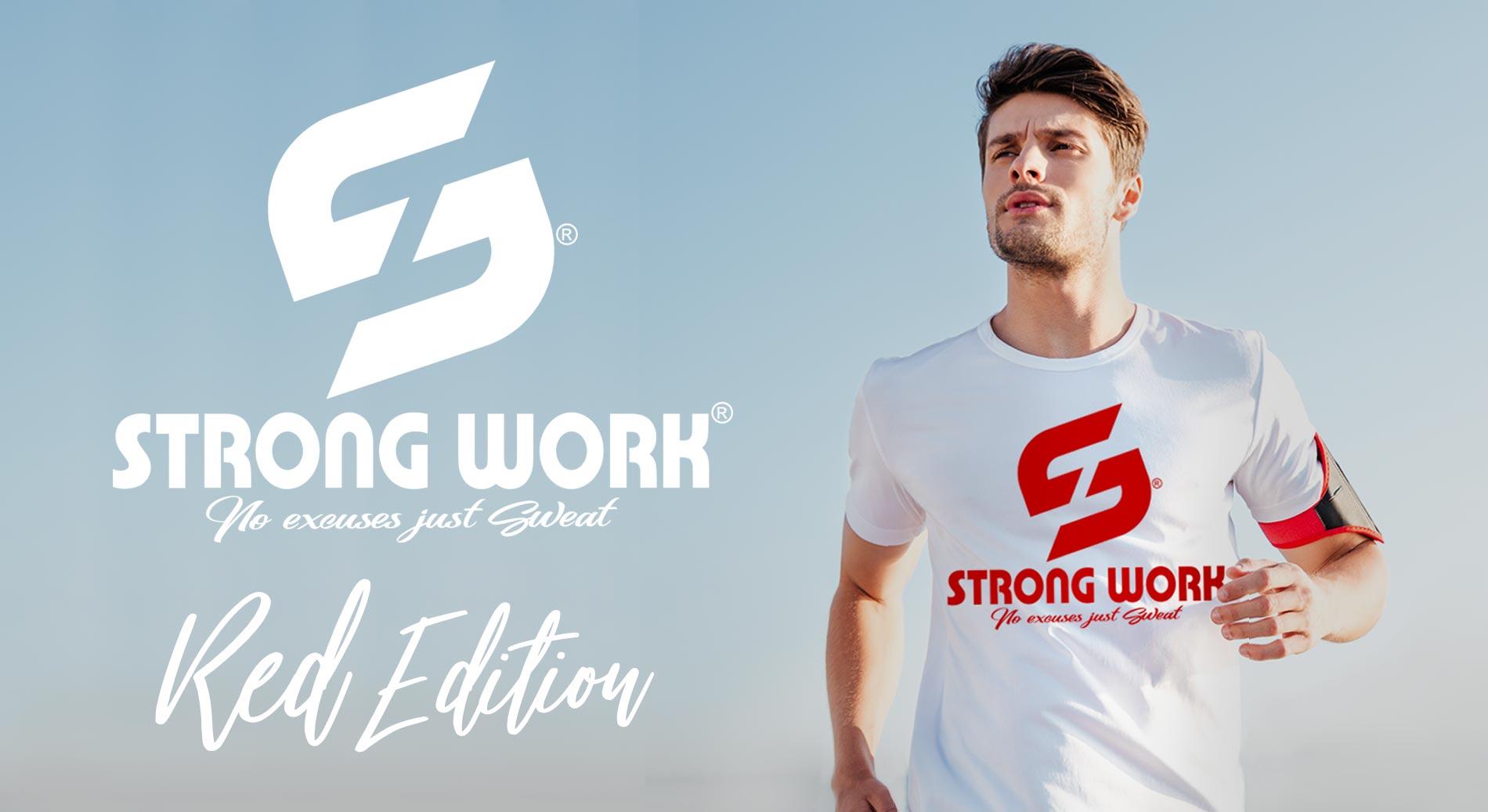 STRONG WORK ORIGINALS RED EDITION POUR HOMME - SPORTSWEAR