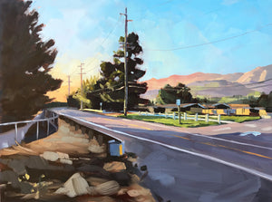 Foothill Road, Sunset