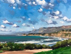 Rincon, Windy Day - 18x24