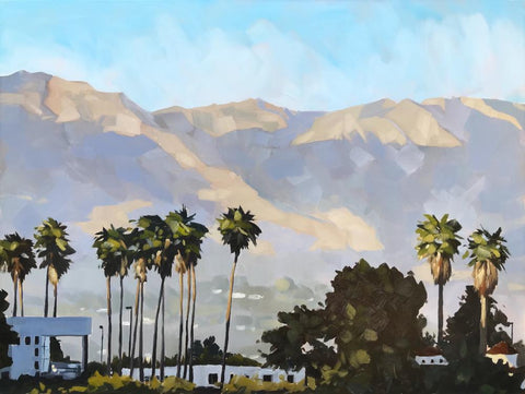 Santa Barbara Hills - Canvas Print