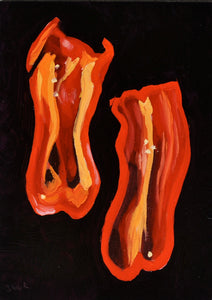 Groovy Red Pepper 5x7