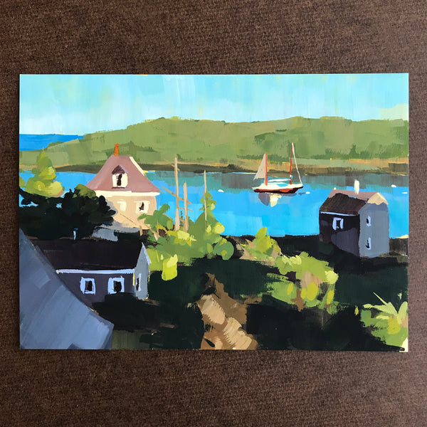 Monhegan Morning