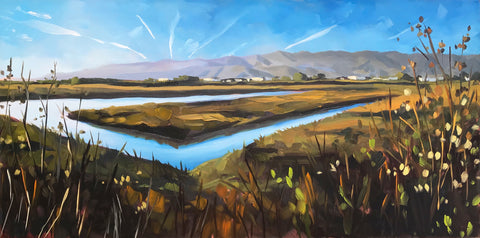 Salt Marsh, Carpinteria 12x24