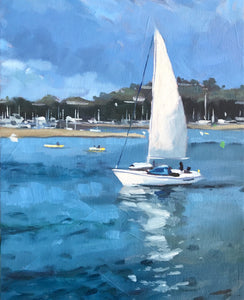 Sunday Sail - 8x10