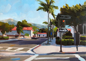 Downtown Santa Barbara I - 5x7