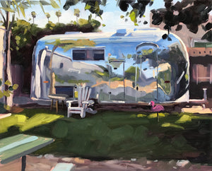 Carpinteria Airstream - 8x10