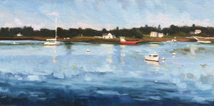 Port Clyde Boats, 6x12