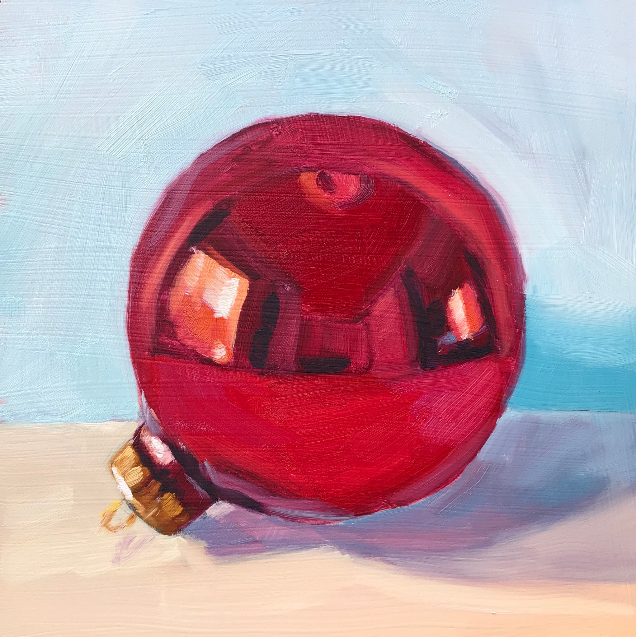 Red Bulb - 6x6