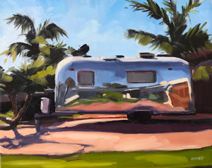 Neighborhood Airstream - 8x10