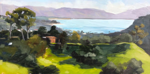 View from Elings Park - Plein Air - 6x12