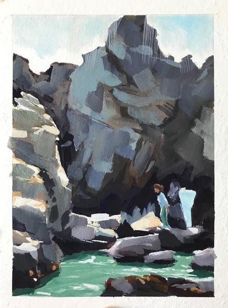 Pfeiffer Beach Rocks II