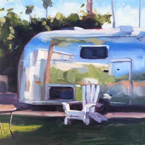 Backyard Airstream - 6x6