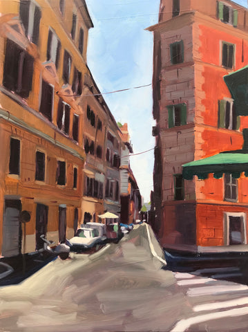 Alley in Rome - 9x12