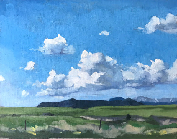 Colorado Clouds - 11x14