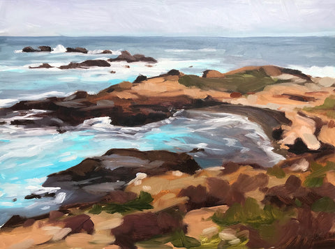 Point Lobos 9x12