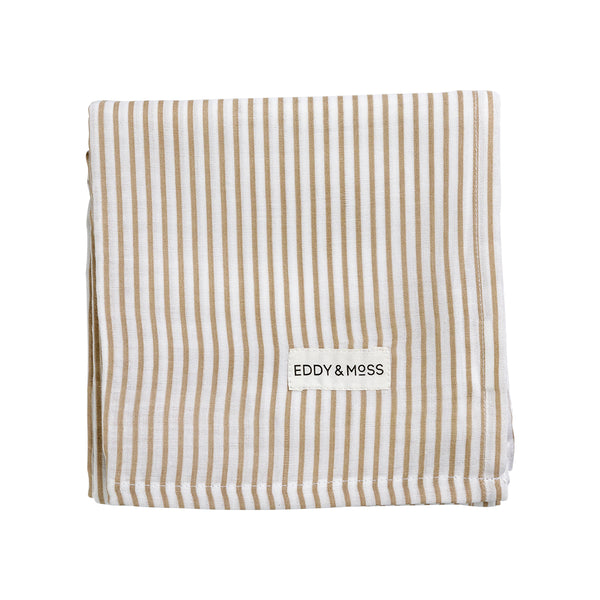 Swaddle Wrap - Stripe | Nutmeg